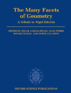The Many Facets of Geometry: A Tribute to Nigel Hitchin