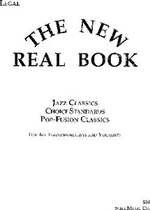 The New Real Book, Volume 1 (Key of C) (New Real Books)