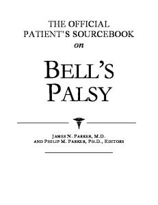 The Official Patient's Sourcebook on Bell's Palsy
