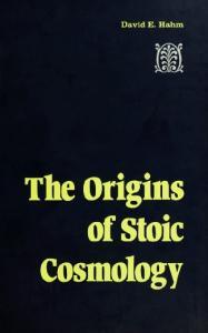 The origins of Stoic cosmology