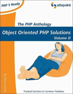The PHP Anthology. Applications
