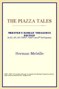 The Piazza Tales (Webster's Korean Thesaurus Edition)