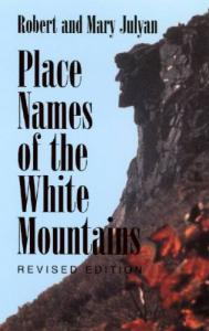 The place names of the White Mountains