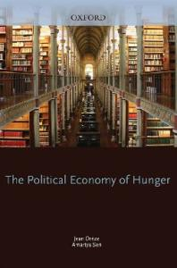 The Political Economy of Hunger: Volume 1: Entitlement and Well-Being (W I D E R Studies in Development Economics)