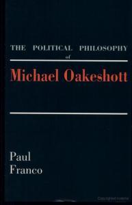 The Political Philosophy of Michael Oakeshott