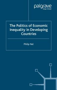 The Politics of Inequity in Developing Countries (International Political Economy)