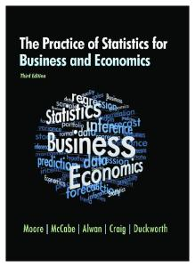 Essentials Of Statistics For Business And Economics 6th Edition Pdf Free