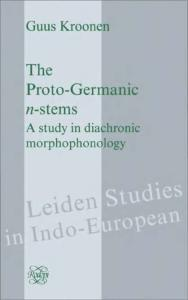 The Proto-germanic N-stems: A Study in Diachronic Morphophonology