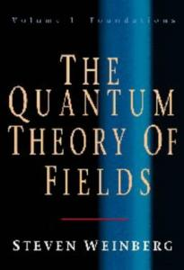 The Quantum Theory Of Fields. Foundations