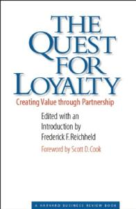 The quest for loyalty: creating value through partnership