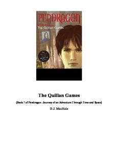 The Quillan Games (Pendragon series # 7)