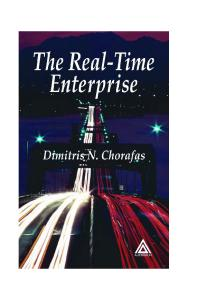 The Real-Time Enterprise