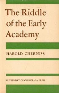 The Riddle of the Early Academy