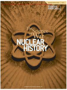 The Science of War: Nuclear History (Scientific American Special Online Issue No. 3)