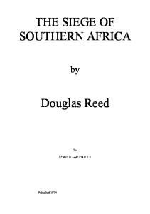 The Siege of Southern Africa