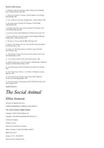 the social animal elliot aronson pdf free download