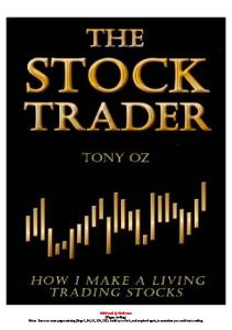 The Stock Trader: How I Make a Living Trading Stocks