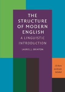 The Structure of Modern English: A Linguistic Introduction