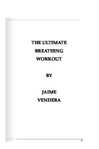 The Ultimate Breathing Workout (Revised Edition)