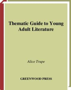 Thematic Guide to Young Adult Literature