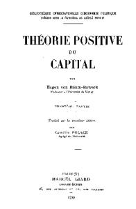 Theorie positive du capital