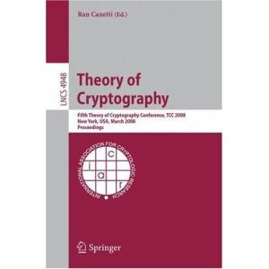 Theory of Cryptography 5 conf