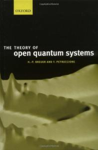 Theory of open quantum systems