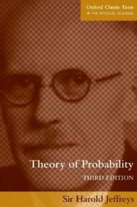 Theory of probability, 3rd Edition
