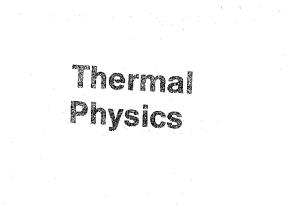 Thermal Physics (2nd Edition)