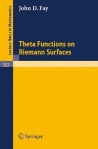 Theta Functions on Riemann Surfaces