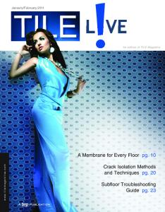 Tile Magazine January-February 2011