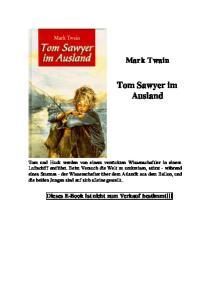 Tom Sawyer im Ausland