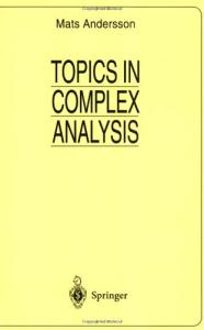 Topics in complex analysis