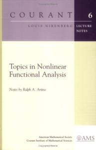 Topics in nonlinear functional analysis