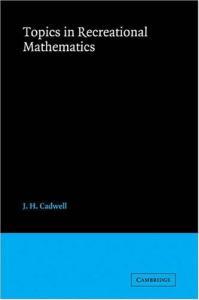 Topics in recreational mathematics