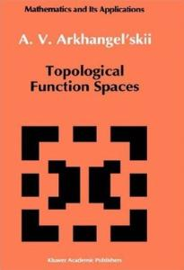 Topological Function Spaces (Mathematics and its Applications)