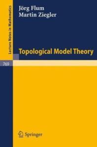 Topological model theory