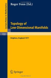 Topology of Low-Dimensional Manifolds