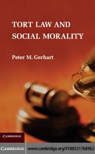 Tort Law and Social Morality