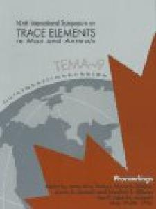 Trace elements in man and animals--9: proceedings of the Ninth International Symposium on Trace Elements on Man and Animals