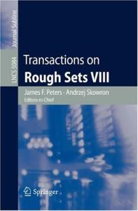 Transactions on Rough Sets 8 conf