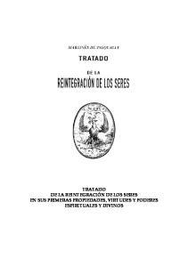 Tratado De La Reintegracin De Los Seres