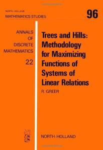 Trees and Hills: Methodology for Maximizing Functions of Systems of Linear Relations