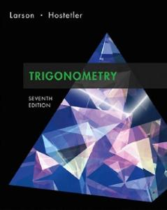 Trigonometry, 7th Edition