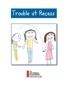 Trouble at Recess
