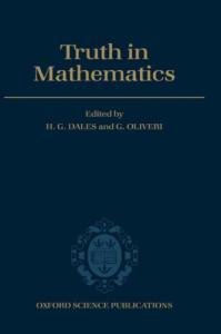 Truth in mathematics