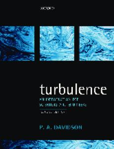 Turbulence: An Introduction for Scientists and Engineers, 2nd edition