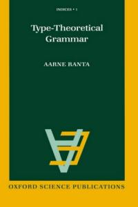 Type-Theoretical Grammar (Indices, 1