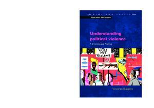 Understanding Political Violence