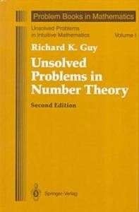 Unsolved problems in number theory
